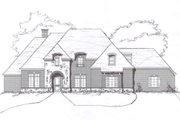 European Style House Plan - 4 Beds 3 Baths 3130 Sq/Ft Plan #141-190