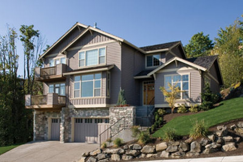 Home Plan - Traditional Exterior - Front Elevation Plan #48-178