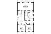 Craftsman Style House Plan - 3 Beds 2.5 Baths 1758 Sq/Ft Plan #48-490 Floor Plan - Upper Floor Plan