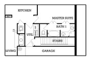 European Style House Plan - 3 Beds 2 Baths 1442 Sq/Ft Plan #45-113 Floor Plan - Other Floor Plan