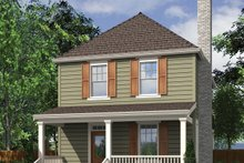 Traditional Exterior - Front Elevation Plan #48-978