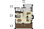 Cottage Style House Plan - 3 Beds 2 Baths 1457 Sq/Ft Plan #25-4933