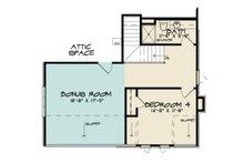 European Floor Plan - Upper Floor Plan Plan #923-167