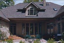 Dream House Plan - European Exterior - Outdoor Living Plan #20-209