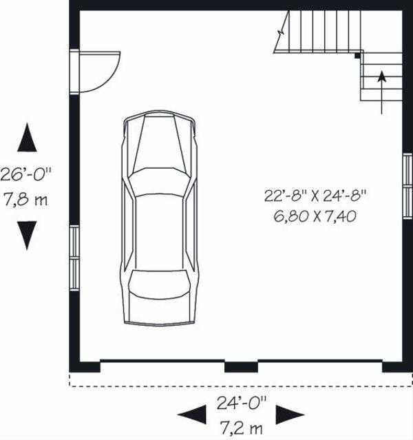 Dream House Plan - Traditional Floor Plan - Main Floor Plan #23-767