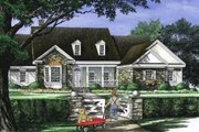 Country Style House Plan - 4 Beds 3 Baths 2818 Sq/Ft Plan #137-274 Exterior - Front Elevation