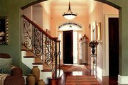 European Style House Plan - 4 Beds 2.5 Baths 2854 Sq/Ft Plan #70-489 Photo