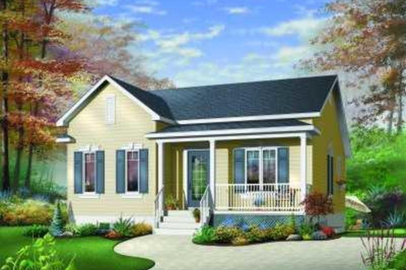 Farmhouse Exterior - Front Elevation Plan #23-325