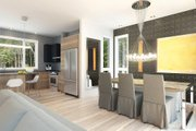 Contemporary Style House Plan - 3 Beds 3 Baths 1587 Sq/Ft Plan #23-2312 Interior - Dining Room