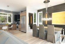 Contemporary Interior - Dining Room Plan #23-2312