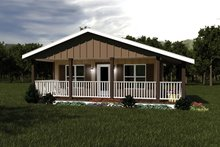 House Plan Design - Ranch Exterior - Front Elevation Plan #57-239