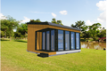 Modern Style House Plan - 1 Beds 1 Baths 264 Sq/Ft Plan #549-11 Exterior - Front Elevation