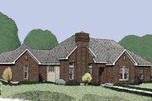 House Design - European Exterior - Front Elevation Plan #410-345