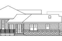 Ranch Exterior - Other Elevation Plan #124-578