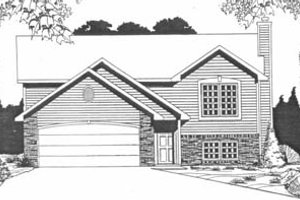 Traditional Exterior - Front Elevation Plan #58-154