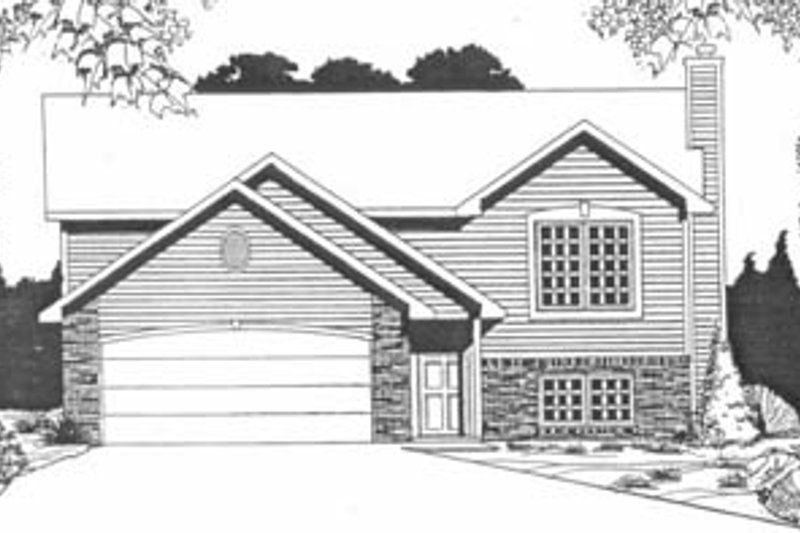 Dream House Plan - Traditional Exterior - Front Elevation Plan #58-154
