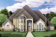 Dream House Plan - European Exterior - Front Elevation Plan #84-240