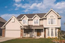 Home Plan Design - Traditional Exterior - Other Elevation Plan #20-215