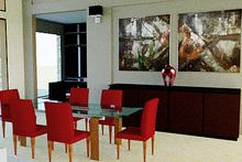Modern Interior - Dining Room Plan #542-1