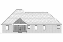 Home Plan - Traditional Exterior - Rear Elevation Plan #21-282
