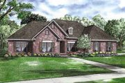 Traditional Style House Plan - 3 Beds 2.5 Baths 2134 Sq/Ft Plan #17-2155 Exterior - Front Elevation