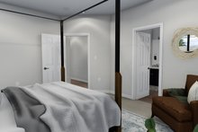 House Plan Design - Ranch Interior - Master Bedroom Plan #1060-40