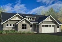 Dream House Plan - Craftsman Exterior - Front Elevation Plan #920-7