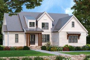 Farmhouse Exterior - Front Elevation Plan #927-1003