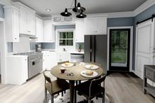 Farmhouse Interior - Kitchen Plan #44-224