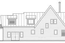 House Plan Design - Contemporary Exterior - Rear Elevation Plan #124-874