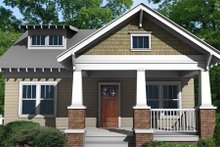 House Plan Design - Craftsman style home, Bungalow design, elevation