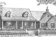 Country Style House Plan - 4 Beds 2.5 Baths 2118 Sq/Ft Plan #310-611