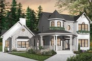 Victorian Style House Plan - 4 Beds 3.5 Baths 2265 Sq/Ft Plan #23-750 Exterior - Front Elevation