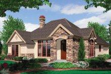 Craftsman Exterior - Front Elevation Plan #48-279