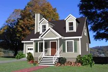 Dream House Plan - Traditional Exterior - Front Elevation Plan #79-148