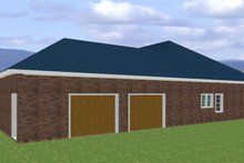 Southern Exterior - Other Elevation Plan #44-120