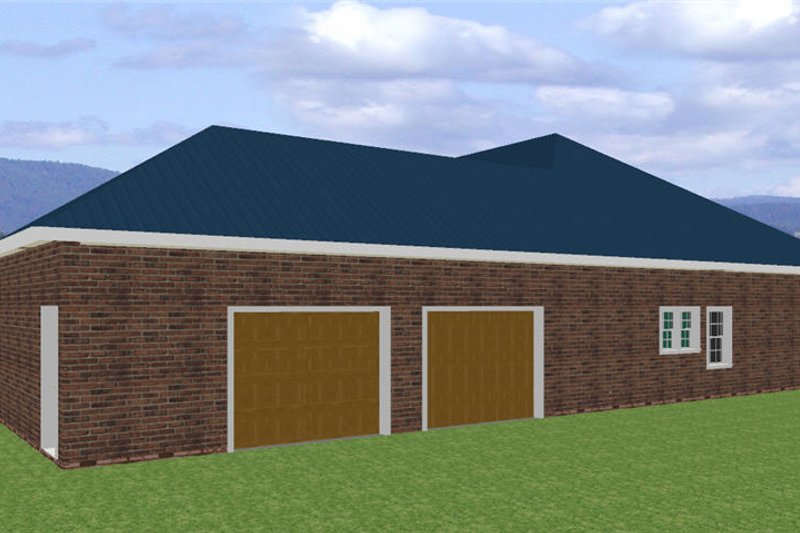 Southern Exterior - Other Elevation Plan #44-120 - Houseplans.com
