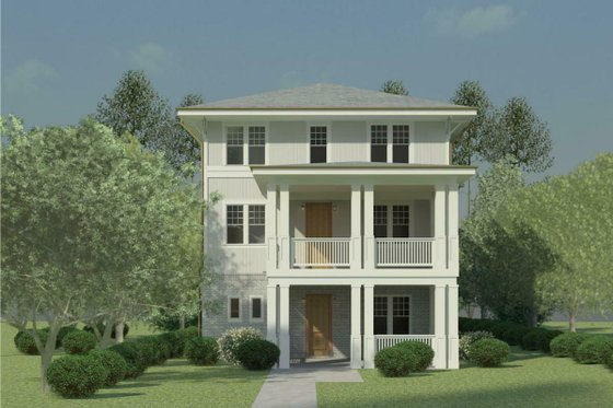 Craftsman Exterior - Front Elevation Plan #926-5