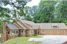 Dream House Plan - Craftsman Exterior - Front Elevation Plan #437-121