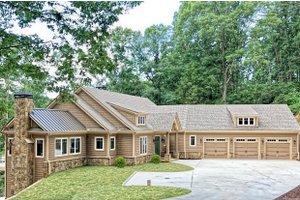 House Design - Craftsman Exterior - Front Elevation Plan #437-121