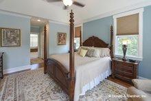 Architectural House Design - Cottage Interior - Master Bedroom Plan #929-992
