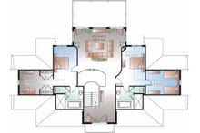 Beach Floor Plan - Upper Floor Plan Plan #23-854