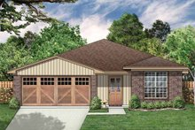 House Plan Design - Traditional Exterior - Front Elevation Plan #84-670