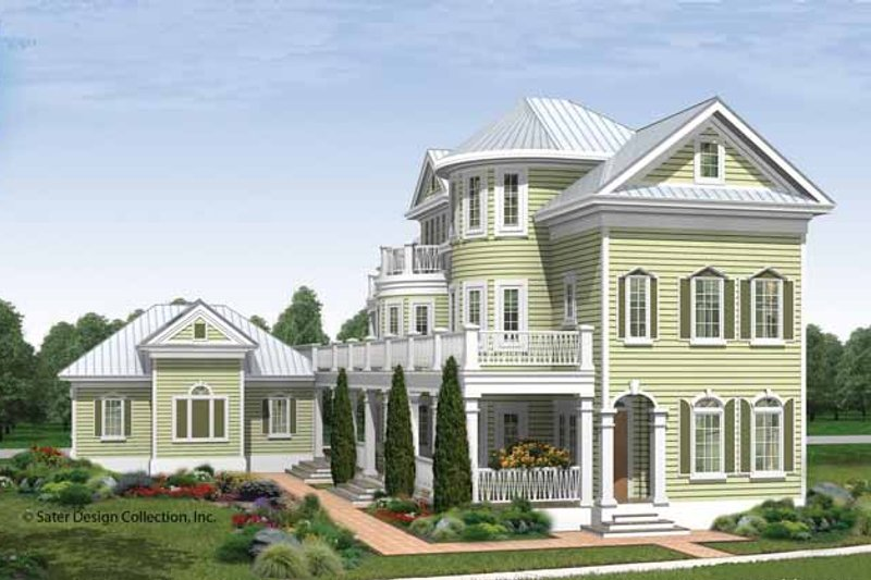 Traditional Exterior - Front Elevation Plan #930-409 - Houseplans.com