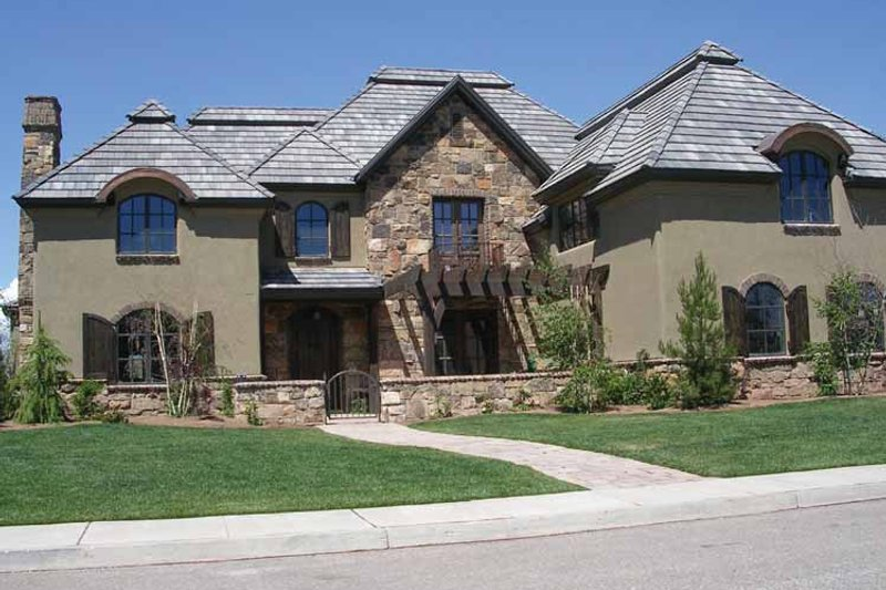 Country Exterior - Front Elevation Plan #937-25 - Houseplans.com