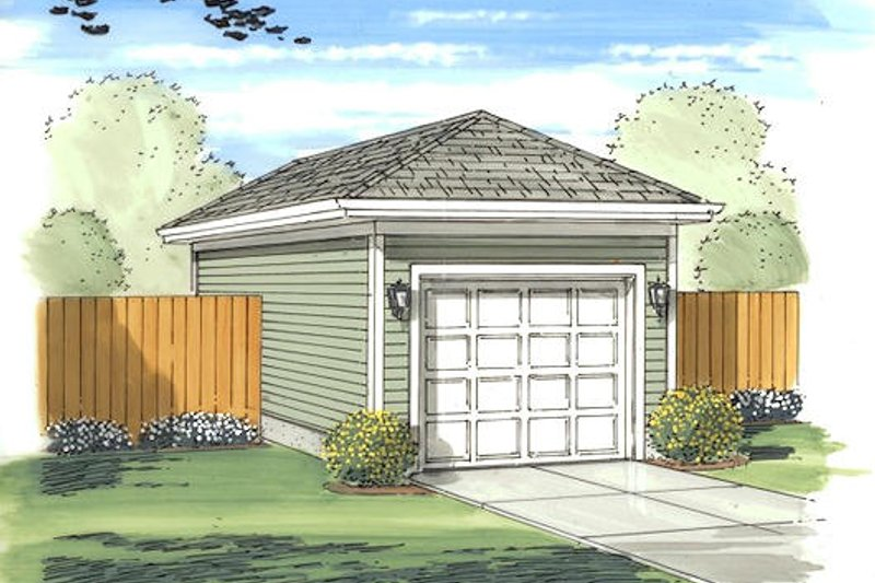 Traditional Exterior - Front Elevation Plan #455-11
