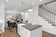 Craftsman Style House Plan - 4 Beds 3.5 Baths 3504 Sq/Ft Plan #48-1007 Interior - Kitchen