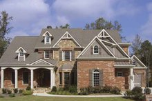 Traditional Exterior - Front Elevation Plan #54-330
