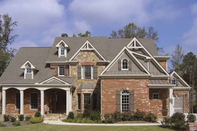 Home Plan - Traditional Exterior - Front Elevation Plan #54-330