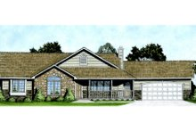 Home Plan - Ranch Exterior - Front Elevation Plan #58-167